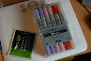 my markers