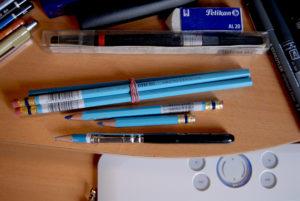 blue-pencils