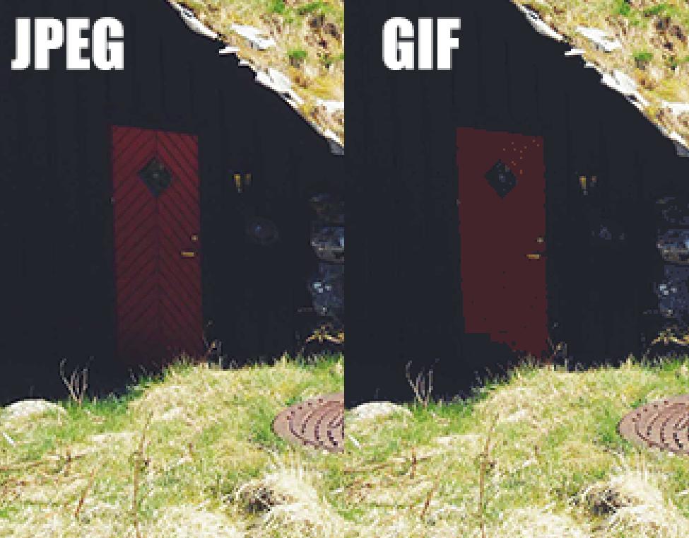 jpeg vs. gif